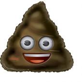 Balão Foil Emoji Poop 32
