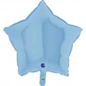 Balão Foil Estrela Azul Pastel