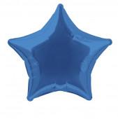 Balão Foil Estrela Azul Royal 51cm