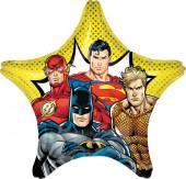 Balão Foil Estrela Jumbo DC Comics Liga da Justiça