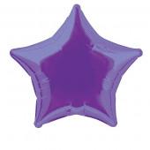 Balão Foil Estrela Roxo 51cm