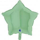 Balão Foil Estrela Verde Pastel