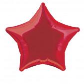 Balão Foil Estrela Vermelho 51cm