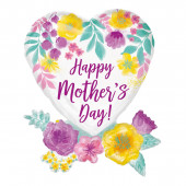 Balão Foil Feliz Dia da Mãe 76cm