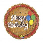 Balão Foil Happy Birthday Cookie 53cm
