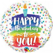 Balão Foil Happy Birthday To You 46cm