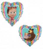 Balão Foil Masha e o Urso 46cm