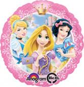Balão Foil metálico com as Princesas Disney 43cm
