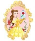 Balão Foil metálico da Bella e o Monstro  Princesas Disney