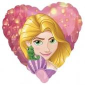 Balão Foil metálico da Rapunzel  Princesas Disney - 43cm
