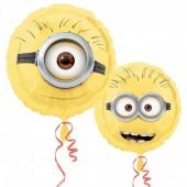 Balão Foil metálico Minions Winking - 43cm