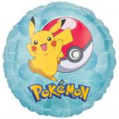 Balão Foil metálico Pokemon 43cm