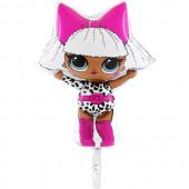 Balão Foil Mini Diva LOL Surprise 16''
