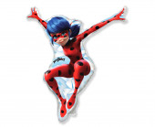 Balão Foil Mini Shape Ladybug