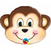 Balão Foil Mini Shape Macaco
