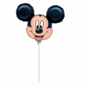 Balão Foil Mini Shape Mickey 23cm