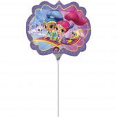 Balão Foil Mini-Shape Shimmer and Shine