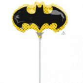 Balão Foil Mini Shape Símbolo Batman