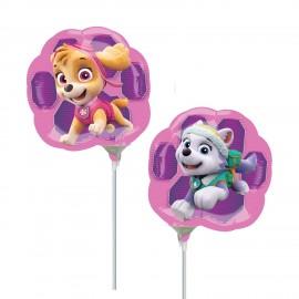 "Balão Foil Mini-Shape Skye e Everest  9""-23cm"