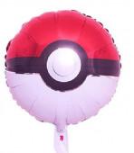 Balão Foil Pokebola Pokémon 44cm