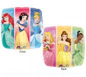 Balão Foil Quadrado Princesas Disney