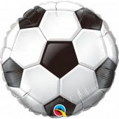 Balão Foil Redondo Bola Futebol 46cm