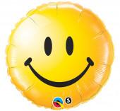 Balão Foil Redondo Emoji 46cm