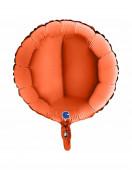 Balão Foil Redondo Laranja 46cm