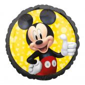 Balão Foil Redondo Mickey Forever 43cm
