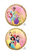 Balão Foil Redondo Princesas Disney