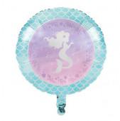 Balão Foil Redondo Sereia 18