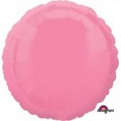 Balão Foil  Rosa Redondo 43cm