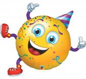 Balão Foil Smile Party 97cm