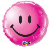 Balão Foil Smile Rosa 46cm