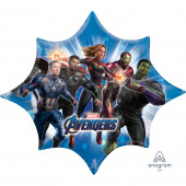 Balão Foil Super Shape Avengers Endgame 88cm