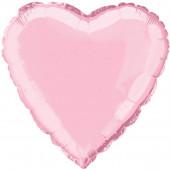 Balão Foil Super Shape Coração Rosa