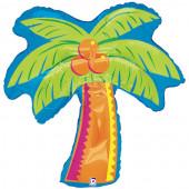 Balão Foil Super Shape Palmeira 94cm