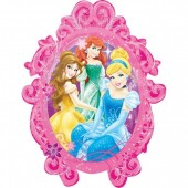 Balão Foil Supershape 2 faces Princesas Disney