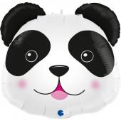 Balão Foil SuperShape Cabeça Panda 74cm