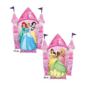 Balão Foil Supershape Castelo Princesas Disney