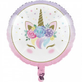 Balão Foil Unicorn Baby 46cm