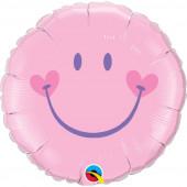 Balão globo Rosa Feliz 18 polegadas Smile