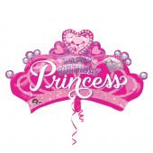Balão Happy Birthday Princess SuperShape
