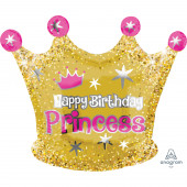 Balão Happy Birthday Princess