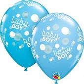 Balão Latex Baby Shower Baby Boy 11