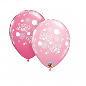 Balão Latex Baby Shower Baby Girl 11