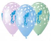 Balão Latex Sereia Sortido