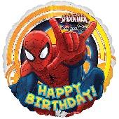 Balão metálico Spiderman Marvel