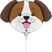 Balão Mini Cabeça Cão 14
