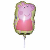 Balão Mini Shape Foil Porquinha Peppa